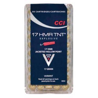 CCI 17HMR TNT HP 17GR 50/BOX 40/CASE