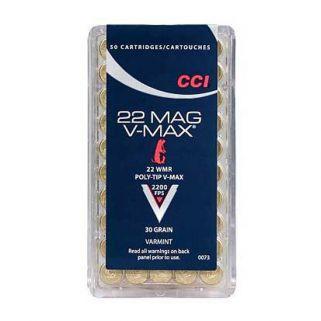 CCI 22MAG 30GR V-MAX 50/40