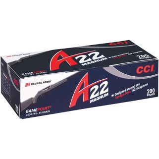 CCI A22 22MAG 35GR GAME POINT 200/10