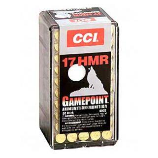 CCI 17HMR 20GR GAME PNT 50/2000