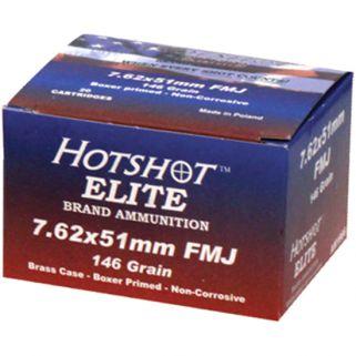 Century Hotshot 308WIN/7.62NATO 146 Grain FMJ 20 Round Box AM1966