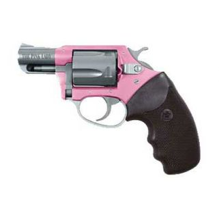 """Charter Arms Undercover Lite 38 Special 2"""" Barrel W/ Fixed Sights 5Rd Black Grip/Pink-Stainless 53830"""