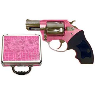 """Charter Arms Undercover Lite Chic Lady 38 Special 2"""" Barrel W/ Fixed Sights 5Rd Black Rubber Grip/Pink-Stainless 53839"""