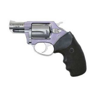 """Charter Arms Undercover Lite Lavender Lady 38 Special 2"""" Barrel W/ Fixed Sights 5Rd Black Grip/Lavender-Stainless 53840"""