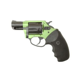"""Charter Arms Undercover Lite Shamrock 38 Special 2"""" Barrel W/ Fixed Sights 5Rd Black/Green 53844"""