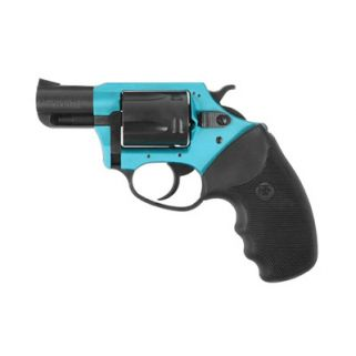 "Charter Arms Undercover Lite Santa Fe 38 Special 2"" Barrel W/ Fixed Sights 5Rd Black-Turquoise 53864"