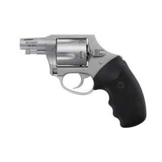 """Charter Arms Boomer 44 Special 2"""" Barrel 5Rd Black Rubber Grip/Matte Stainless 74429"""