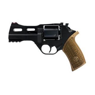 """Chiappa Rhino 40DS 9mm 4"""" Barrel 6Rd Walnut Grip/Black 340-165"""