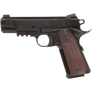 "Colt Special Combat Commander 45ACP 4.25"" Barrel W/ Novak Rear-Trijicon Front Night Sights 7+1 Cherry Grips/Blued O4012RGZ"