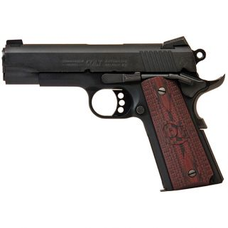 "Colt Lightweight Commander 45ACP 4.25"" Barrel W/ Novak White Dot Sights 8+1 G10 Checkered Black Cherry Grips/Blued O4840XE"
