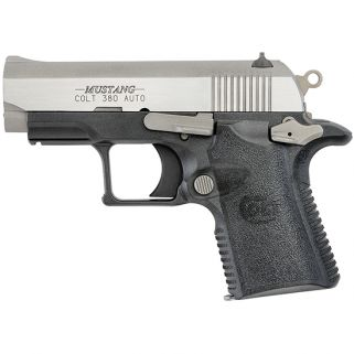 "Colt Mustang Lite 380ACP 2.75"" Barrel W/ High Profile Sights 6+1 Black/Stainless O6796"
