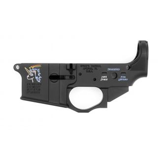 Spikes Tactical Snowflake Stripped Lower Receiver STLS030-CFA