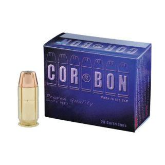 CORBON 45ACP+P 185GR JHP 20/500