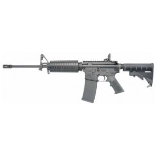 "Colt Lightweight AR15 A4 223 Remington/5.56NATO 16.1"" Barrel W/ Adjustable Front 30+1 Black AR6720"