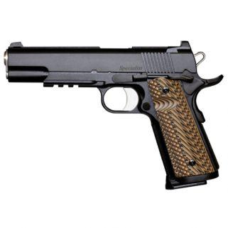 "CZ DW Specialist 9mm Luger 5"" Barrel W/ Tactical Ledge Tritium Sights 10+1 G10 Grips/Black Duty 01892"