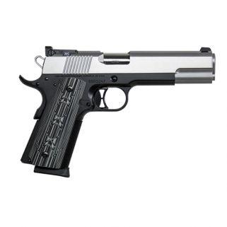 "CZ DW Silverback 9mm Luger 5"" Barrel W/ Adjustable Tritium Sights 10+1 Black/Stainless 01894"