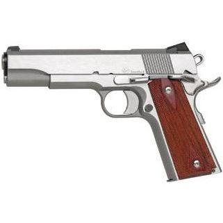 "Dan Wesson 1911 Razorback 10mm 5"" Barrel 8+1 Wood Grip/Stainless 01907"