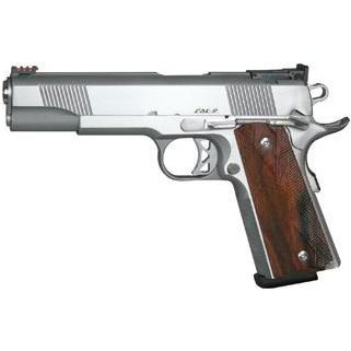 "CZ DW Pointman Nine 9mm Luger 5"" Barrel W/ Adjustable Rear-Fiber Optic Front Sights 9+1 Cocobolo Grip/Stainless 01909"