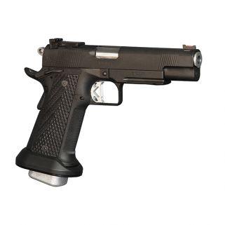 """CZ DW Chaos 9mm Luger 5"""" Barrel W/ Adjustable Fiber Optic Sights 21+1 Black 01980"""