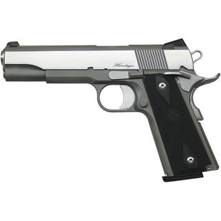 """CZ DW RZ-45 Heritage 45ACP 5"""" Barrel W/ Fixed Tritium Front Night Sights 8+1 Black/Stainless 01981"""
