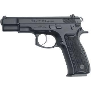 "CZ 75 BD 9mm Luger 4.6"" Barrel W/ Fixed 3 Dot Sights 16+1 Black 91130"