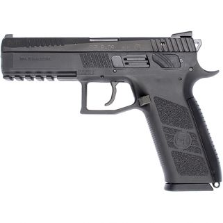"CZ 75 P-09 Duty 40S&W 4.53"" Barrel W/ Fixed 3 Dot Sights 15+1 Black 91621"