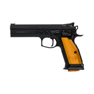"CZ 75 Tactial Sport 40S&W 5.4"" Barrel 20+1 Orange/Black 91261"