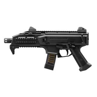 "CZ Scorpion Evo 3 S1 9mm 7.72"" Low Pro Adjustable Sights 20+1 Black 91351"
