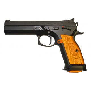 "CZ 75 TSO 9mm 5.4"" Barrel 20+1 91261"
