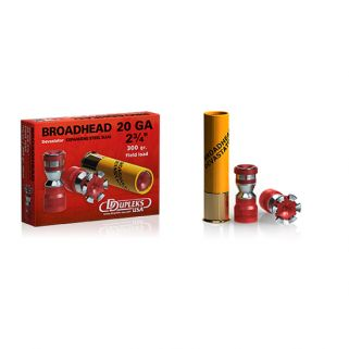 HSM Ddupleks Broadhead Devastator Slug 20 Gauge 300 Gr - 5 pk DDUA20D20