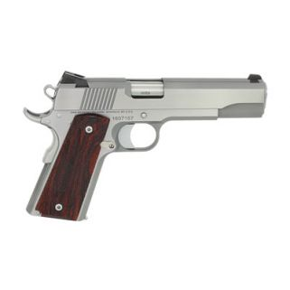 "Dan Wesson 1911 Razorback 10mm 5"" Barrel 8+1 Wood Grip/Stainless 01907"