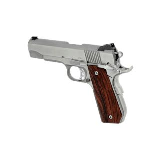 "Dan Wesson 1911 Bobtail CCO 45ACP 4.25"" Barrel W/ Night Sights 8+1 Wood Grip/Stainless 01912"