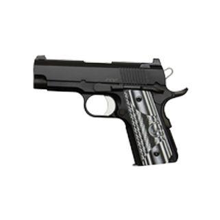 """Dan Wesson 1911 Eco 9mm 3.5"""" Barrel W/ Night Sights 8+1 G10 Grip/Black 01968"""