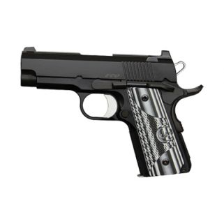 """Dan Wesson 1911 Eco 45ACP 3.5"""" Barrel W/ Night Sights 7+1 G10 Grip/Black 01969"""