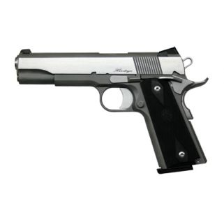"Dan Wesson RZ-45 Heritage 45ACP 5"" Barrel W/ Night Sights 8+1 Black Rubber Grip/Stainless 01981"