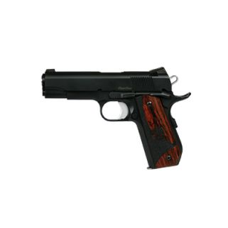 "Dan Wesson 1911 Guardian Bobtail 38 Super 4.25"" Barrel W/ Night Sights 9+1 Wood Grip/Black 01988"