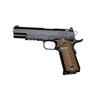 "Dan Wesson 1911 Specialist 45ACP 5"" Barrel W/ Night Sights 8+1 G10 Grip/Black 01992"