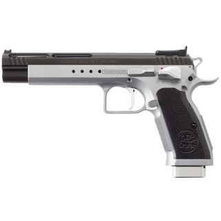 """EAA Witness Match Xtreme 9mm 6"""" Barrel W/ Adjustable Sights 17+1 Duo-Tone 610660"""