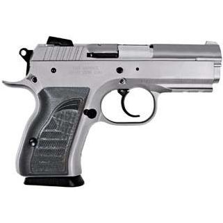 """EAA Witness Compact 9mm Luger 3.6"""" Barrel W/ Adjustable Sights 13+1 Black Grip/Stainless 999099"""