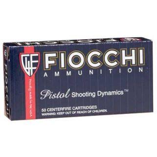 Fiocchi Shooting Dynamics 380ACP 95 Grain FMJ 50 Round Box 380AP