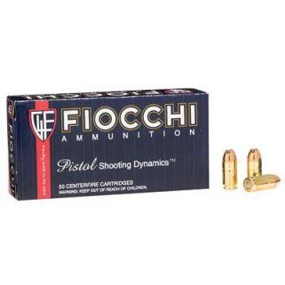 Fiocchi Shooting Dynamics 380ACP 90 Grain JHP 50 Round Box 380APHP