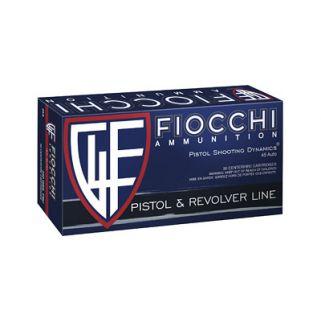 Fiocchi Shooting Dynamics 45ACP 230 Grain FMJ 50 Round Box F45A500