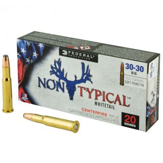 Federal Non-Typical Whitetail 30-30 Winchester 150 Grain Soft Point - 20 Rd Box 3030DT150