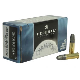 Federal Champion 22LR 40 Grain 500Rd Brick 510