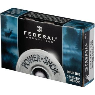FED POWER-SHOK R SLUG 12GA 3 1.25OZ HP 5/50