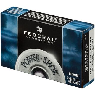 FED POWER-SHOK BUCKSHOT 16GA 2.75 12P #1 5/50