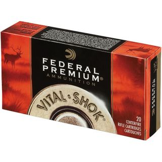 FED VITAL-SHOK 30-06 165GR PARTITION 20/10