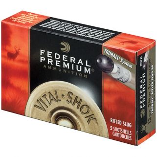 FED VITAL-SHOK TRUBALL 12GA 2.75 1OZ SLUG 5/50