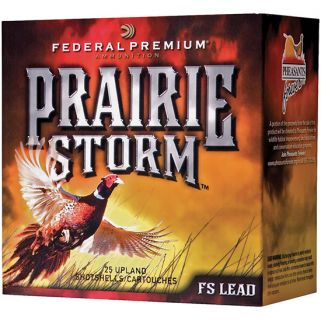FED PRAIRIE STORM LEAD 12GA 2.75 1.25OZ 25/10