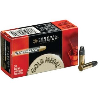 Federal Premium Gold Medal 22LR 40 Grain - 50 Round Box UM22